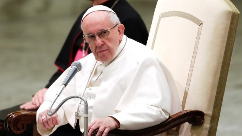 Papst Franziskus warnt die Welt vor einem neuen Hitler