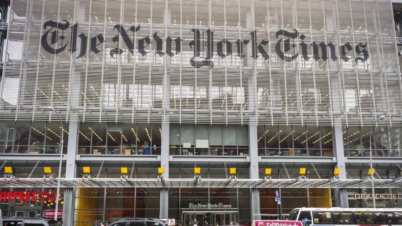 Hacker verüben Cyberattacke auf NYT-Twitter und warnen vor russischem Raketenangriff auf die USA