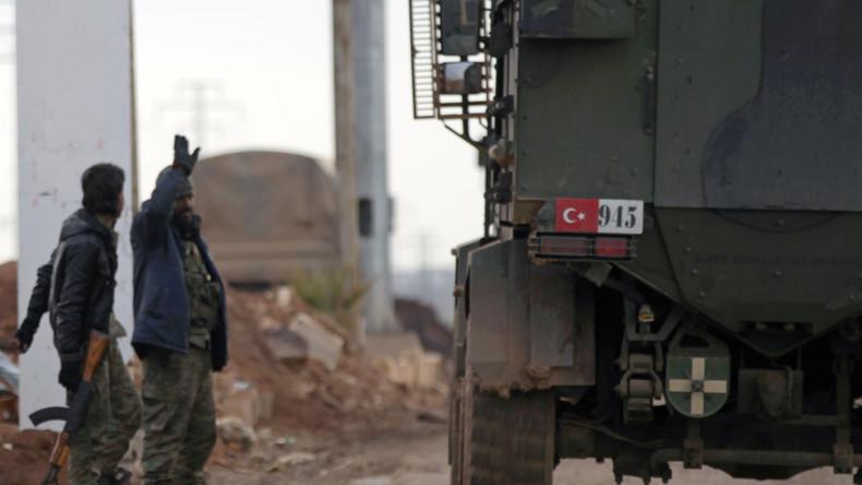 Türkische Militärs töten 65 IS-Terroristen nahe al-Bab