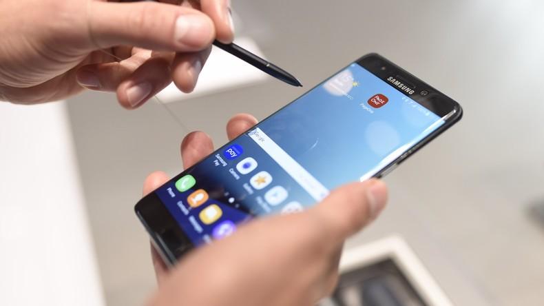 Samsung nennt Grund für Explosionen bei Galaxy Note 7