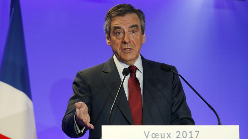 Francois Fillon zweifelt, dass die Russen unter Sanktionen ihr Haupt beugen