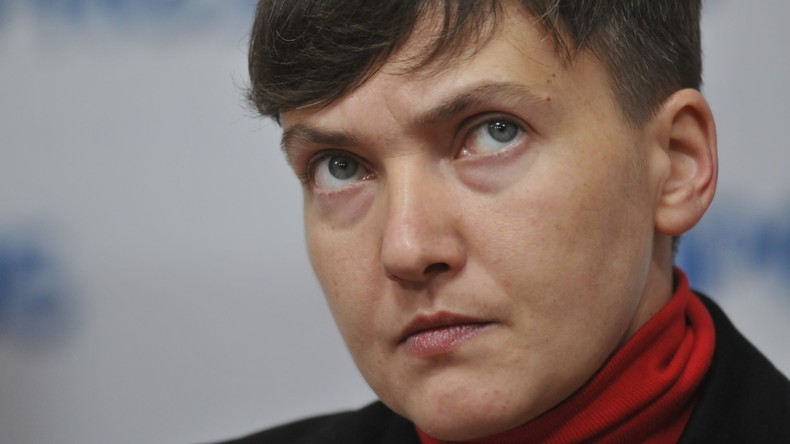 """Nadija Sawtschenko nennt """"oberste Feinde des ukrainischen Volkes"""" - darunter die eigene Regierung"""