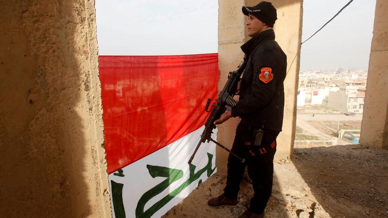 Irakische Armee berichtet über komplette Besitznahme von Ost-Mossul