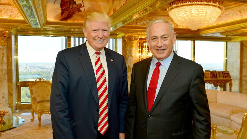 """Israelisches Außenministerium nennt Trump """"echten Freund im Weißen Haus"""""""