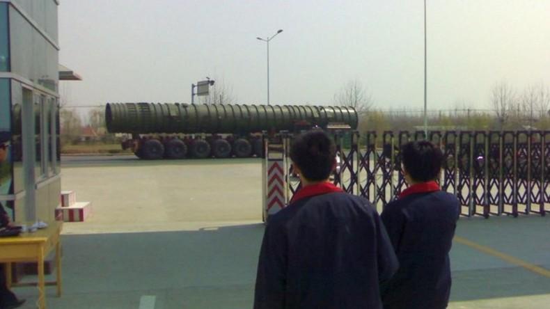 China stationiert Interkontinentalraketen vom Typ DF-41 an Grenze zu Russland