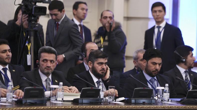 Syrische Opposition wird Abschlusskommuniqué des Treffens in Astana nicht unterschreiben