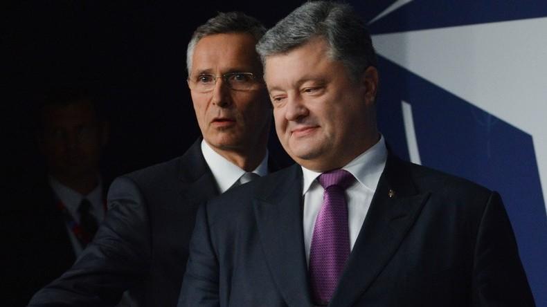 NATO zieht Zusammenarbeit mit der Ukraine ohne Obligo vor