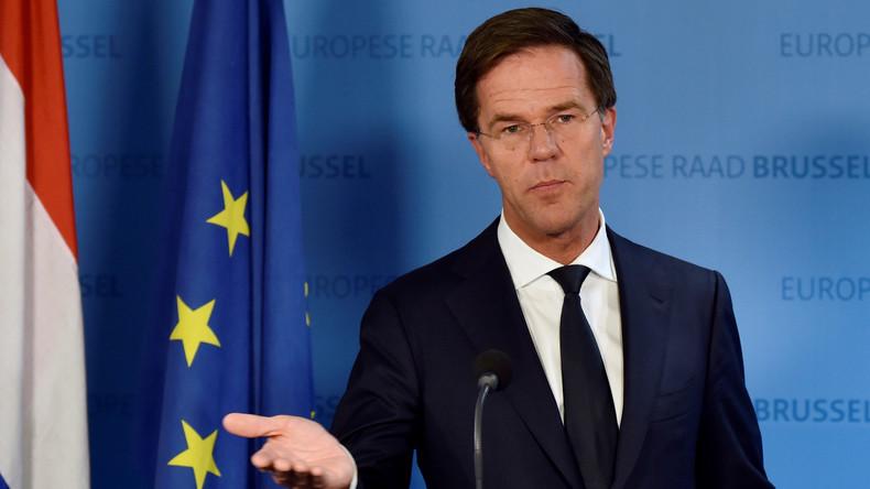 """Niederländischer Premier zu Migranten: """"Benehmt euch anständig oder geht"""""""