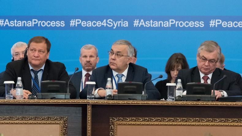 Russland, Iran und Türkei richten trilateralen Regelungsmechanismus für Syrien ein