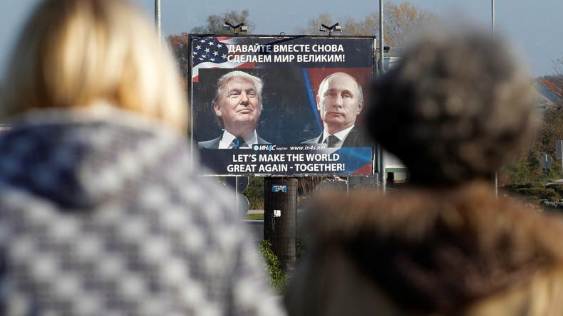 Trumps Zugehen auf Russland: US-Senatoren wollen Präsidenten blockieren