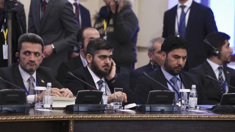 Friedensverhandlungen zu Syrien in Astana: Alle Parteien an einem Tisch