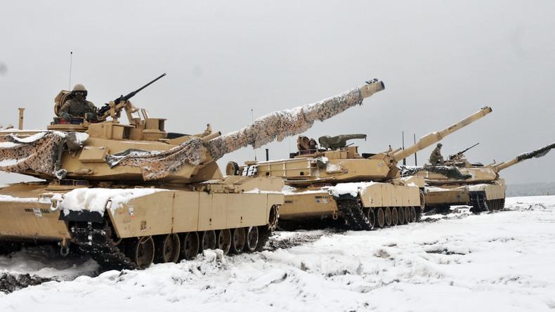 US-Panzerkompanie bei Feuerübung in Polen: Wir sind hier, um voll kampfbereit zu werden