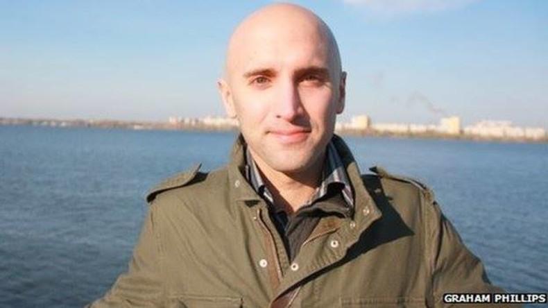 Britischer Journalist wird für Frage über die Ukraine aus dem Parlament hinausbefördert