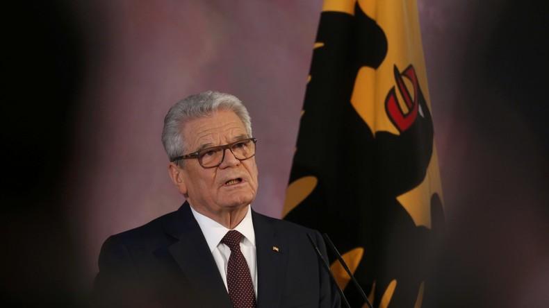 Bundespräsident Gauck setzt Bundestagswahl-Termin fest