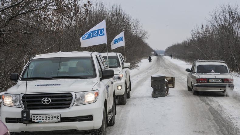 OSZE-Mission wird mehr Überwachungskameras zur Beobachtung der Lage im Donbass installieren