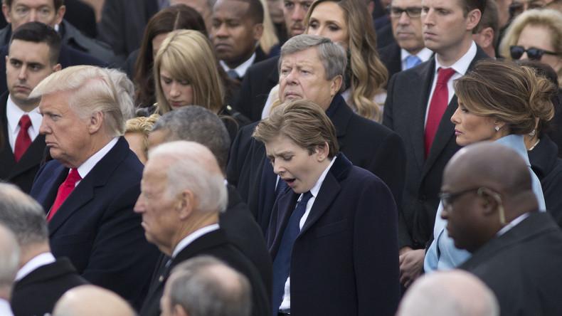 Weißes Haus ruft US-Amerikaner auf, Trumps Sohn in Ruhe zu lassen