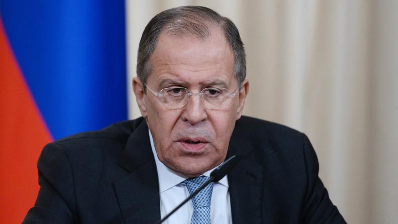 Lawrow: Russland ist nicht an Zerfall der EU interessiert