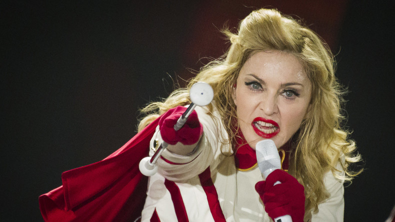 Radiosender in Texas verbannt Madonnas Songs wegen Anti-Trump-Rede