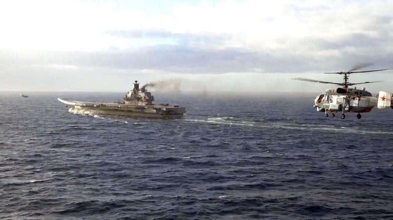 Großbritannien hat für Begleitung russischer Schiffe nach Syrien 1,64 Millionen Euro ausgegeben