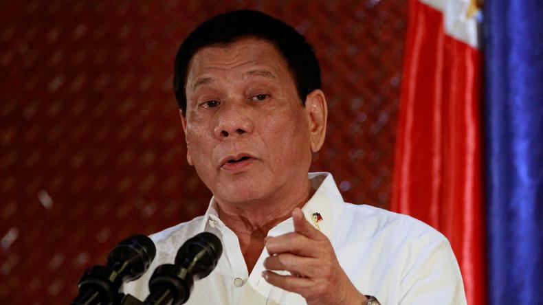 """Philippinischer Präsident findet neues Opfer: """"Katholische Kirche ist korrupt und voller Scheiße"""""""
