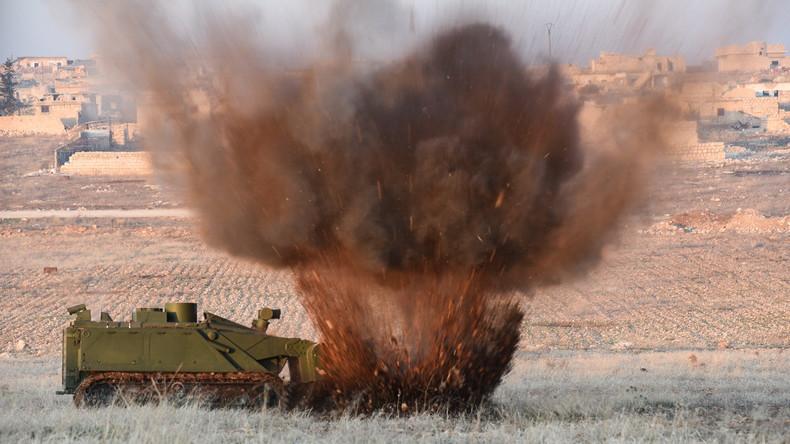 Finden und unschädlich machen: Einsatz russischer Minenräumtechniken in Syrien