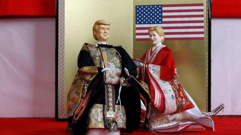 Japaner bringen Trump-Puppe für Mädchenfest heraus