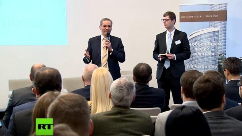 Deutsche Sanktionskritiker: US-Unternehmen nehmen europäischen Firmen Marktanteile in Russland weg