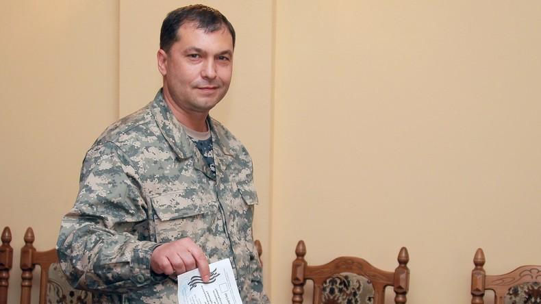 Erster Chef der Volksrepublik Lugansk tot