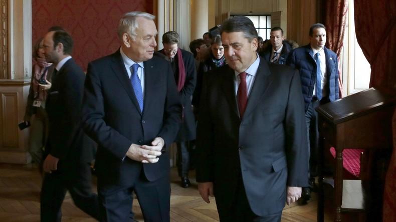 Neuer Bundesaußenminister Gabriel nennt Bedingung für Aufhebung antirussischer Sanktionen