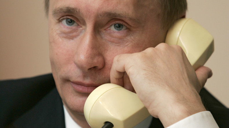 Donald Trump führt erstes Telefongespräch mit Wladimir Putin seit Amtseinführung