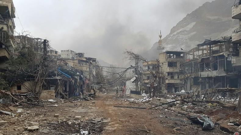 Syrische Streitkräfte befreien Tal Wadi Barada mit wichtigen Wasserquellen bei Damaskus