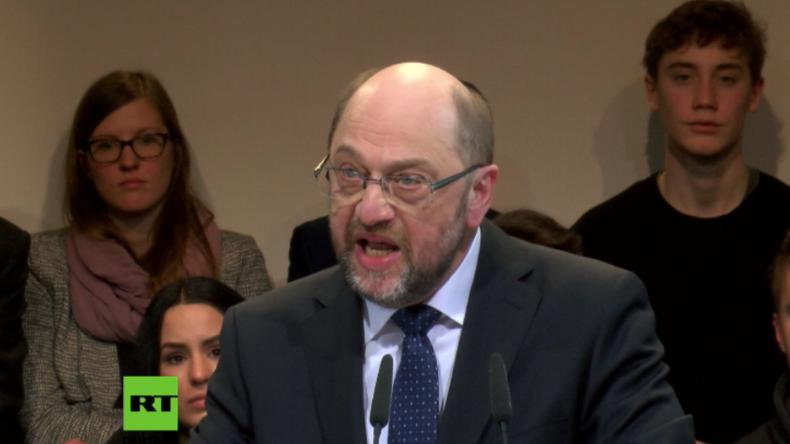 SPD-Kanzlerkandidat Schulz schießt gegen Trump und Orban und verurteilt AfD als Nazi-Partei