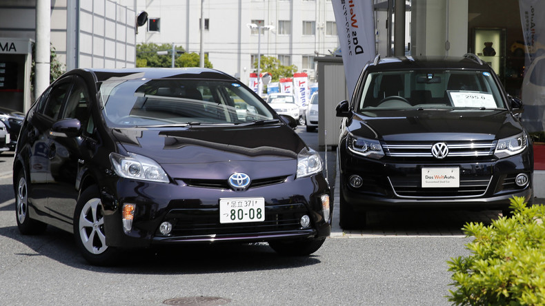 Trotz Abgas-Skandal: Volkswagen löst Toyota als weltgrößter Autoverkäufer ab