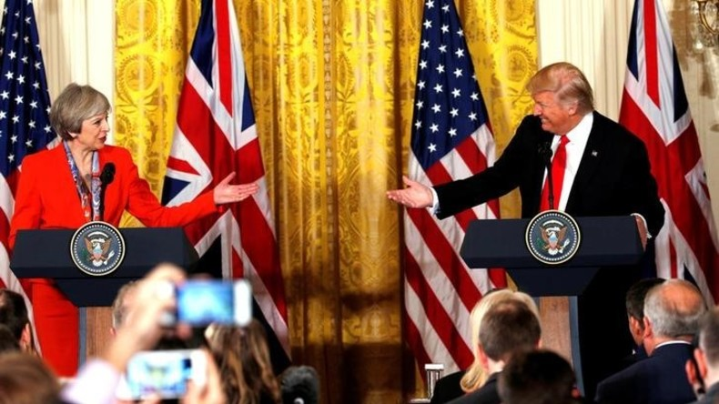 Mehr als 1,6 Millionen Menschen unterschreiben Petition gegen Trumps Besuch in Großbritannien