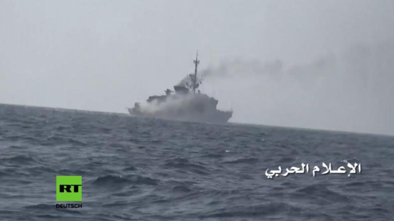 Jemen: Houthis starten Raketen-Angriff auf saudisches Kriegsschiff -  Mindestens zwei Tote