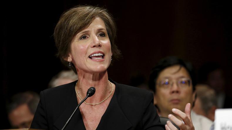 Stellvertretende US-Generalstaatsanwältin wegen Kritik an Trumps Migrationsdekret abgesetzt