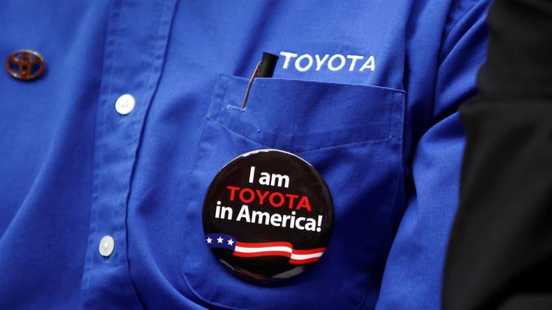 Der Kampf Toyotas mit und gegen die USA