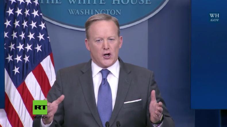 Trumps Pressesprecher verurteilt Medienberichte: Total aufgebauscht und entgegen der breiten Meinung