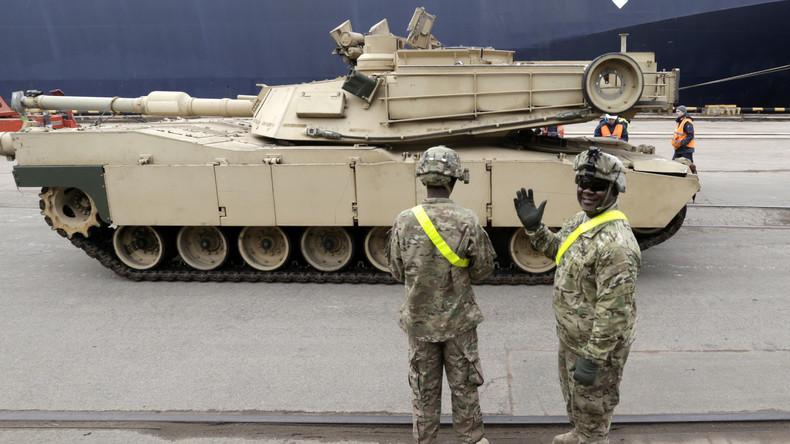 Trumps Administration entsendet Panzerwagen für syrische Rebellen
