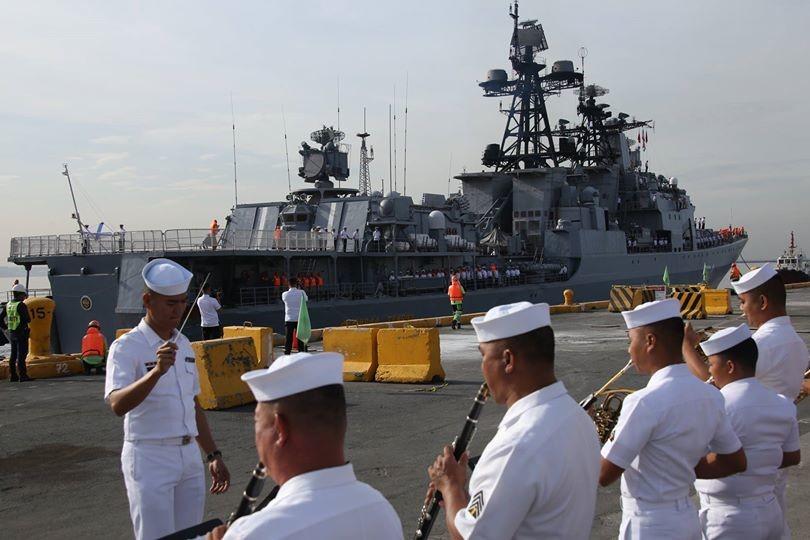 Gemeinsame Manöver: Russische Seestreitkräfte besuchen die Philippinen