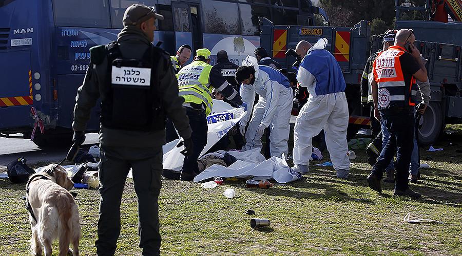 Attentat in Jerusalem: LKW rast in Menschenmenge - 4 Tote, 15 Verletzte