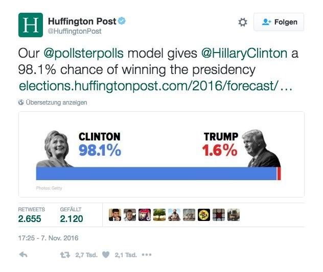 Ja, Russland hat die US-Wahl 2016 beeinflusst