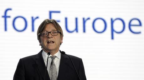 Der Vorsitzende der ALDE-Fraktion im Europaparlament, Guy Verhofstadt.