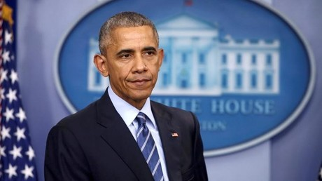 Müde und grau: Präsident Barack Obama auf der letzten Pressekonferenz des Weißen Hauses im Jahr 2016. Aufnahme vom 16. Dezember 2016.
