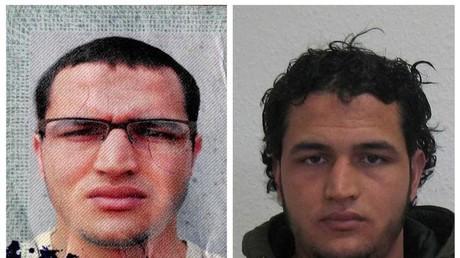 Der als Attentäter vom Berliner Weihnachtsmarkt identifizierte Tunesier Anis Amri.