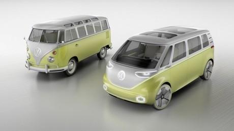 Volkswagen ruft legendären Hippie-Bus im E-Mobil-Format zurück ins Leben