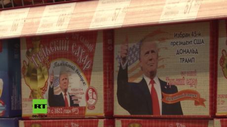 Neuer Marktrenner in Russland? Trump-Zucker soll die russisch-amerikanischen Beziehungen versüßen