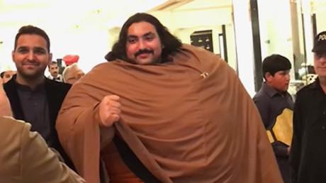 430-Kilo-Mann aus Pakistan proklamiert sich zum