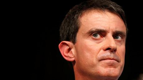Französischer Präsidentschaftskandidat Valls bekommt Ohrfeige
