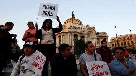Die Proteste in Mexiko halten an.